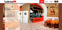 Lokma from Istanbul web design